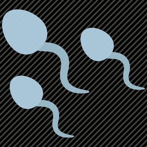 fertilization, sperm, spermatozoon icon