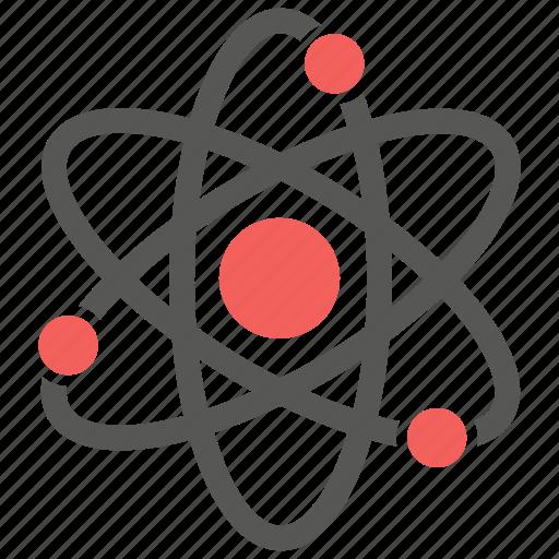 atom, molecular, molecule, nuclear icon
