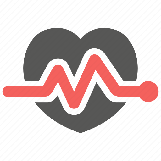 beat, ekg, electrocardiography, heart, heartbeat, pulse, rate icon