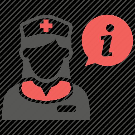 aid, help, hospital, medical, nurse, support icon
