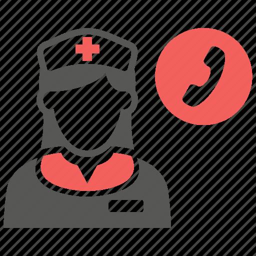 ambulance, emergency, hospital, medical, nurse, rescue icon