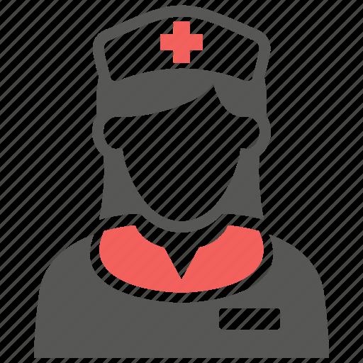 avatar, doctor, healthcare, hospital, nurse icon