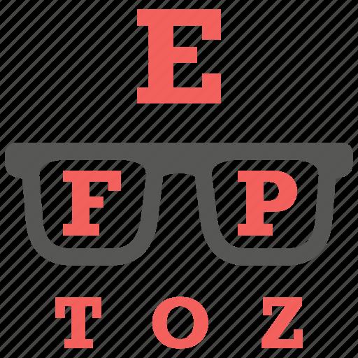 eyesight, glasses, myopic, optometry, presbyopic icon
