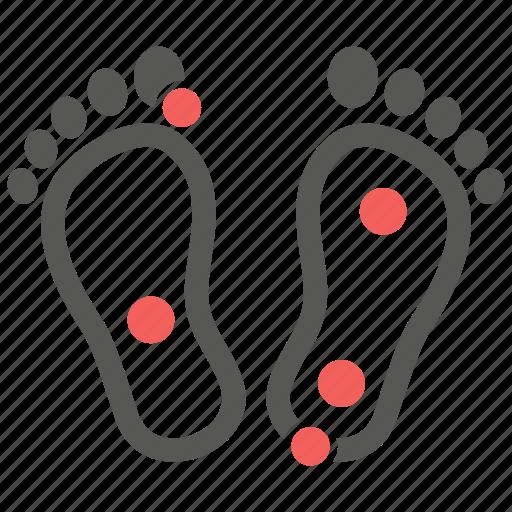 feet, foot, massage, reflexology, spa, toe icon
