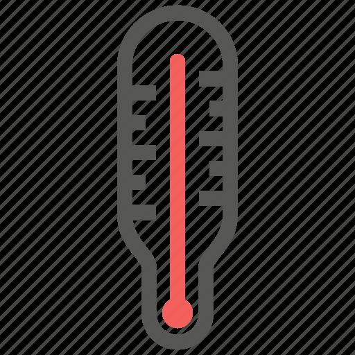 celcius, fahrenheit, fever, temperature, thermometer icon