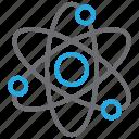 atom, atomic, electron, molecular, molecule icon