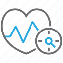 beat, blood, ecg, ekg, heart, pressure, pulse icon