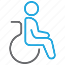 disability, disabled, handicapped, patient, wheelchair