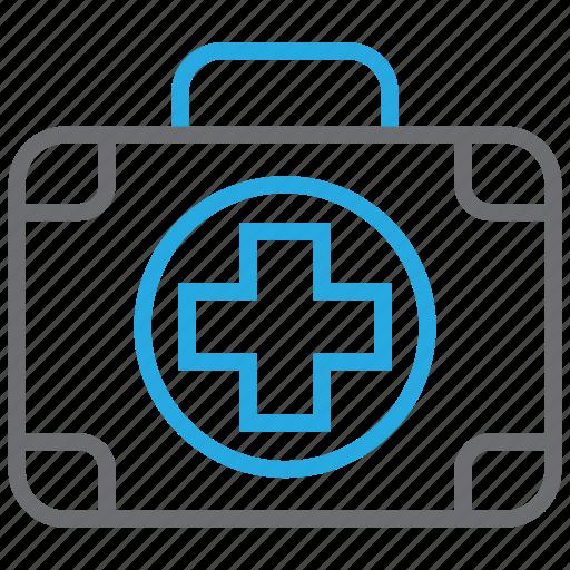 aid, first aid kit, kit, medication, medicine icon