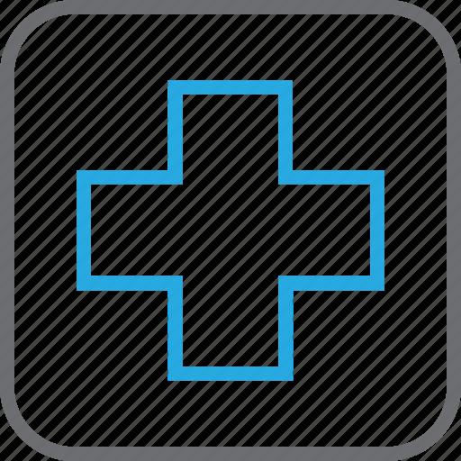aid, clinic, healthcare, hospital icon
