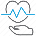 beat, disease, ecg, heart, prevention icon