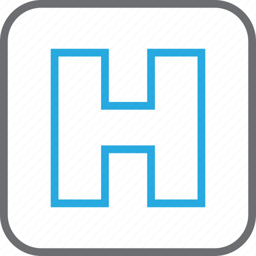clinic, healthcare, hospital, medical, sign icon