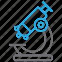 microscope, experiment, laboratory, research