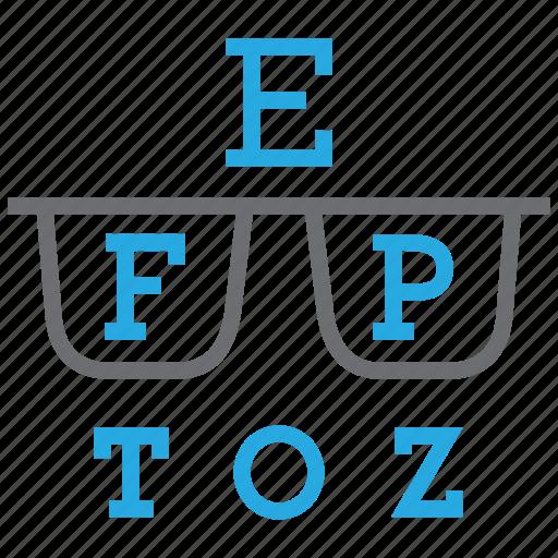 eye, eyesight, optical, optometry icon
