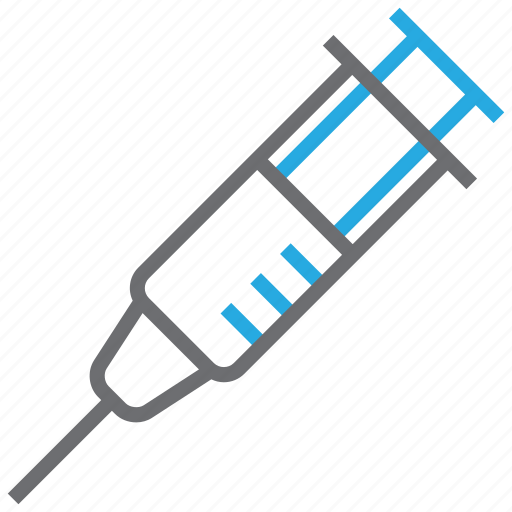 injection, syringe, vaccination, vaccine icon