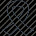 awareness, ribbon