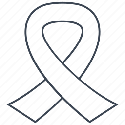 awareness, ribbon icon