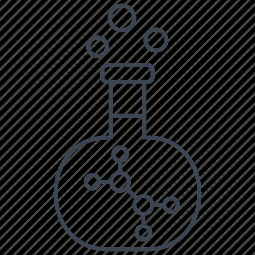 biochemistry, experiment, research, scientific icon