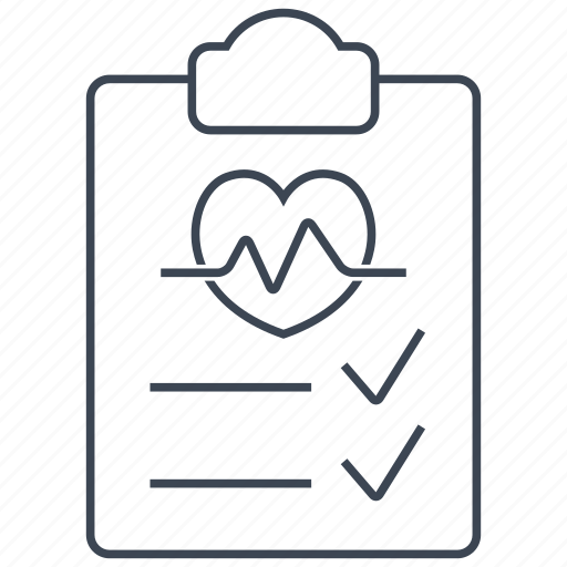 health, test icon