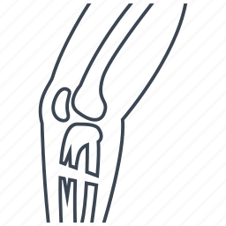 broken, leg, orthopedics icon