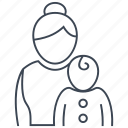 child, kids, newborn, pediatrics icon