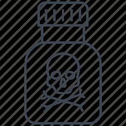 death, poison, toxic icon