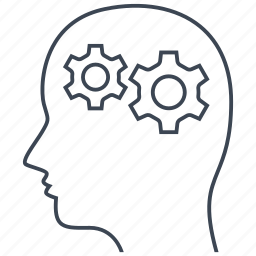 logical, mental, psychiatry icon