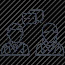 conversation, dialogue, discussion, doctors icon