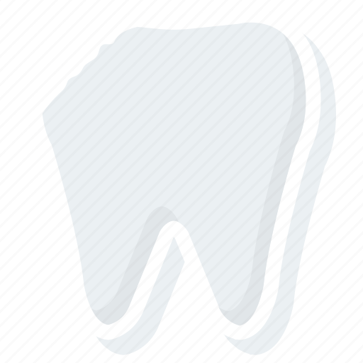 chipped, damage, medical, teeth, tooth icon