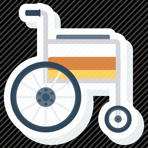 accessibility, disability, disabled, handicap, paralyze, patient, wheelchair icon