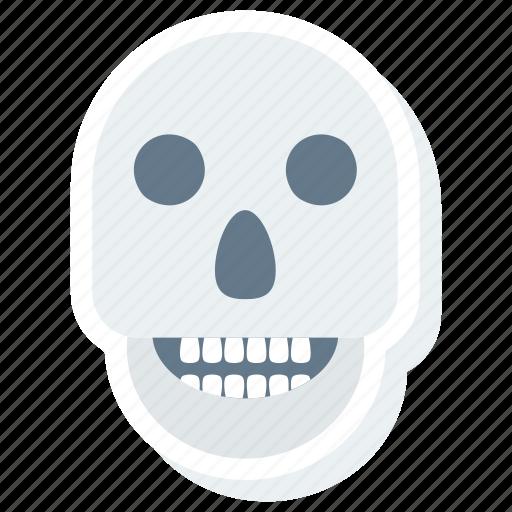 alert, attention, avatar, awful, bone, bones, caution icon