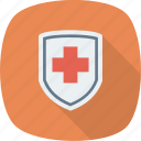 shield, medical, protection, health, security, insurance icon