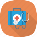 drug, healthcare, medical, medicine, notes, stethoscope icon