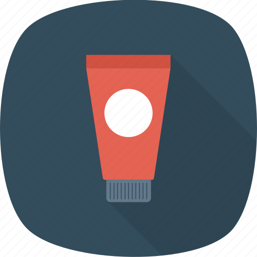 container, cream, health, medical, paste, tooth, tube icon