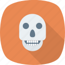 bones, caution, danger, dead, deadly, death, error icon