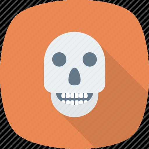 bones, caution, danger, dead, deadly, death, error icon