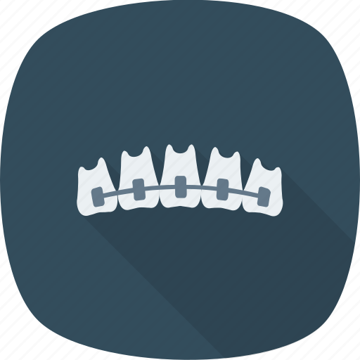artificial, dental, denture, jaw, stomatology, treatment icon