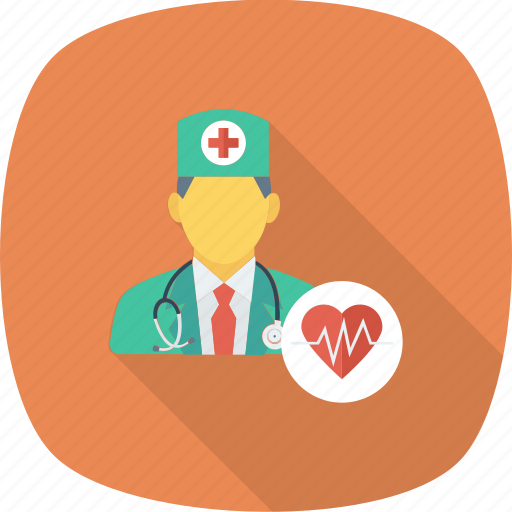 doctor, healthcare, heart, medical, physician, specialist icon