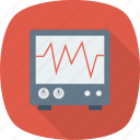 health, healthcare, healthy, heart, heartbeat, monitor, pulsation icon