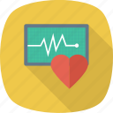 healthcare, heartbeat, pulsation, pulse icon