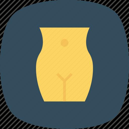 abdomen, body, curve, female, firm, fit, reduction icon