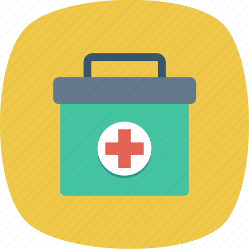 aid, box, first, kit, medical, medicine icon