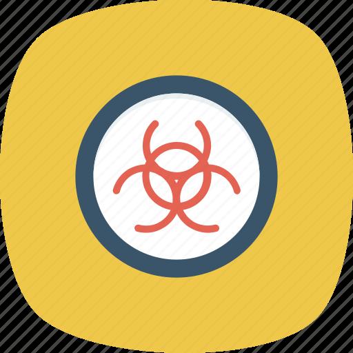 biohazard, biological, danger, hazard, hazardous, infectious, poison icon