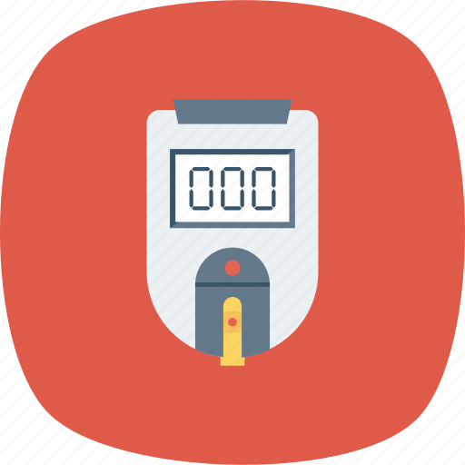 blood, checker, machine, measurement, medical icon