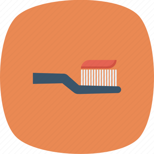 brush, tooth, toothbrush icon