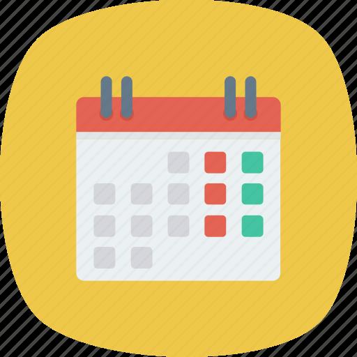 agenda, calendar, date, event, month, schedule icon
