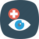 eye, eyeball, health, look, medical, search, spy icon