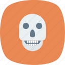 danger, dead, deadly, death, error, exclamation, halloween icon