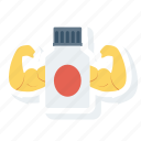 bottle, care, clinic, drugs, hospital, power icon