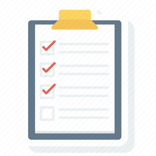 check, list, note, skill, web, wireframes icon